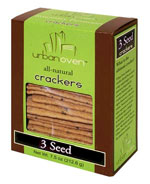 Urban Oven Crackers  / Starr Ridge Crackers / 3 Seed Crackers