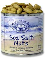 Blue Crab Bay Co. Sea Salt Nuts