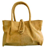 Cork Beja Handbag / Natural