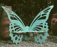 The Original Butterfly Garden Bench (Medium)