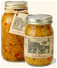 Cherith Valley Gardens Hot and Spicy Corn Relish