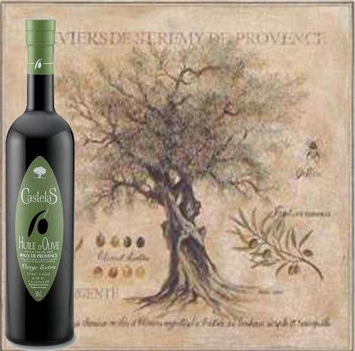 Castelas French Extra Virgin Olive Oil (France)