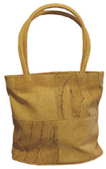Cork Cela Tote Bag / Rustic & Natural