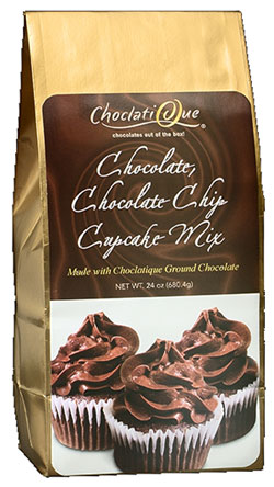 Chocolate, Chocolate Chip Cupcake Mix