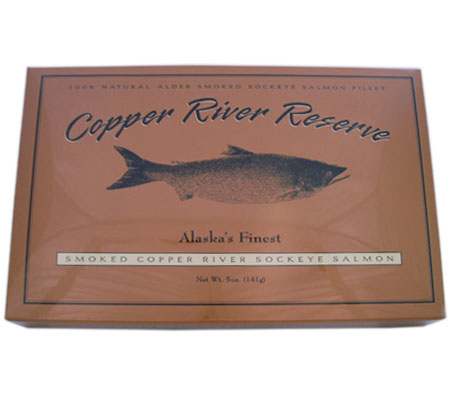 Smoked Copper River Reserve Wild Alaskan Sockeye Salmon  Fillet (6 oz.)