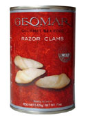 Geomar Gourmet Foods / Chilean Razor Clams