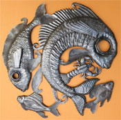Beyond Borders Wall Art / Fish Lid