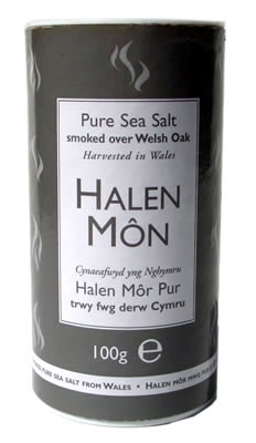 Halen Mon Organic Oak-Smoked Welsh Sea Salt