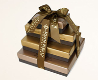 John Kelly Chocolates Truffle Fudge Bar (4-Tier) Gift Tower