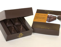 John Kelly Chocolates Truffle Fudge Bites with Caramel & Hawaiian Red Alaea Sea Salt