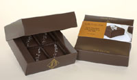 John Kelly Chocolates Dark Chocolate Fudge Bites with French Grey Sea Salt