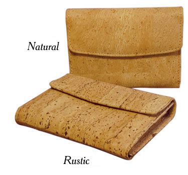 Cork Lagos Wallet / Natural or Rustic