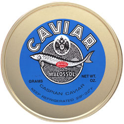 Marky�s Sevruga Caviar (1 lb. Tin and 1 kg. Tin)