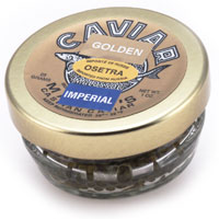 Marky's Osetra Imperial Golden Caviar (1 oz. Jar and 2 oz. Jar)