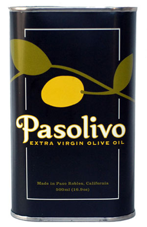 Pasolivo Unfiltered Extra Virgin Olive Oil (California)