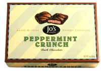 Jo�s / Dr. Peter�s  Peppermint Crunch/Bark Candy