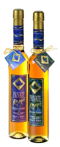 Highland Sugarworks Highland Estates Private Reserve Pure Vermont Maple Syrup