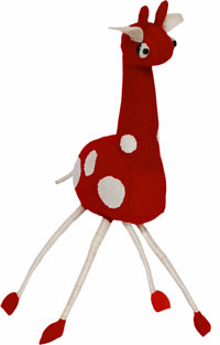 Quinton Giraffe / Red