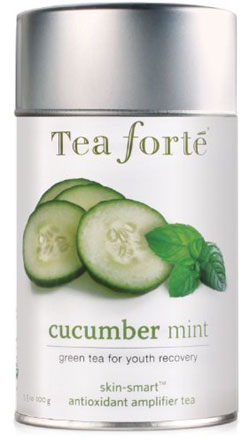 Tea Forte Cucumber Mint Green Tea