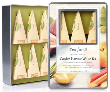 Tea Forte Garden Harvest White Tea Collection