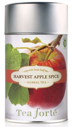 Tea Forte Harvest Apple Spice Herbal Tea