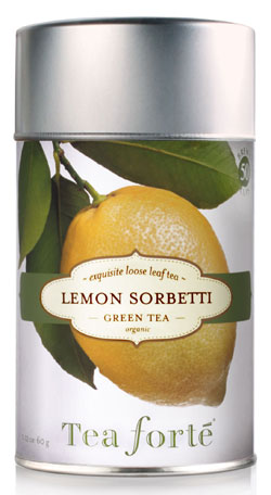 Tea Forte Lemon Sorbetti Green Tea