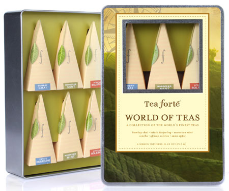 Tea Forte World of Teas Tea Collection