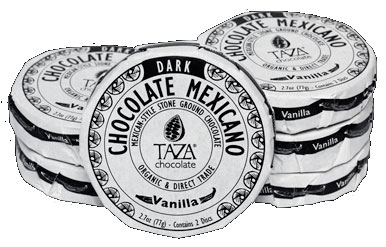 Mexicano Chocolate Discs / Vanilla
