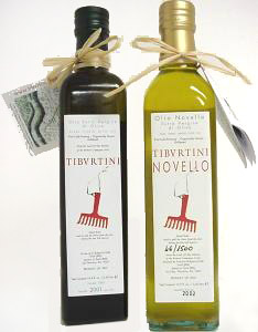 Tibvrtini Extra Virgin Olive Oil & Tibvrtini Extra Virgin Novello (Lazio)