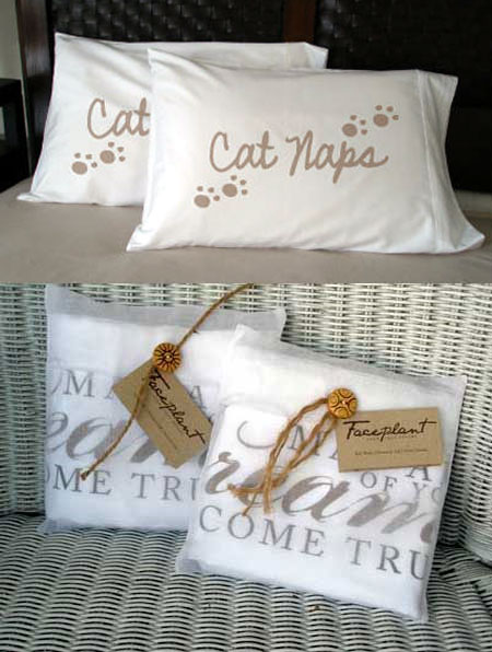 Faceplant Dreams - Cat Naps Pillowcases