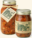Cherith Valley Gardens Black Bean Salsa