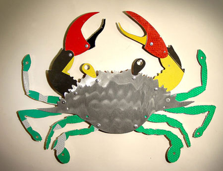Trippworx Crab Sculpture