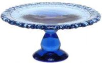 Fire & Light Glassware Pedestal Cake Plate & Server