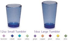 Fire & Light Glassware Tumblers