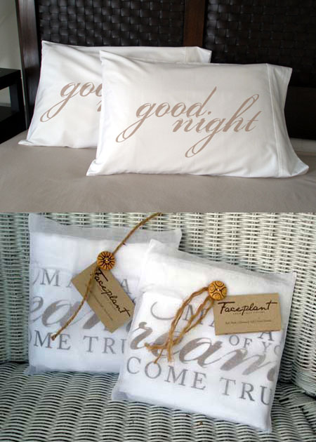 Faceplant Dreams - Good Night Pillowcases