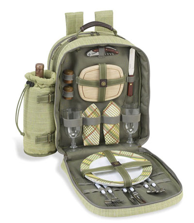 Picnic at Ascot Hamptons Backpack for Two