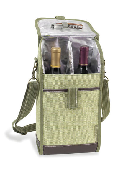 Picnic at Ascot Hamptons Two-Bottle Carrier