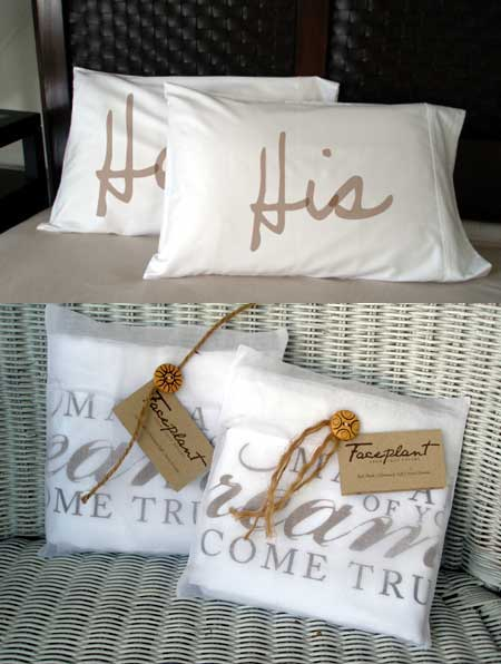 Faceplant Dreams -  His & Hers Pillowcases