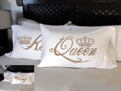 Faceplant Dreams - King and Queen Pillowcases
