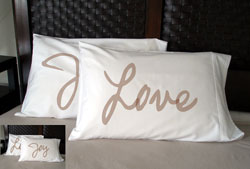 Faceplant Dreams - Love / Joy Pillowcases