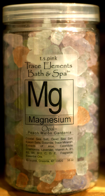 T. S. Pink Magnesium Bath & Spa Salts / Crystals 40 oz.