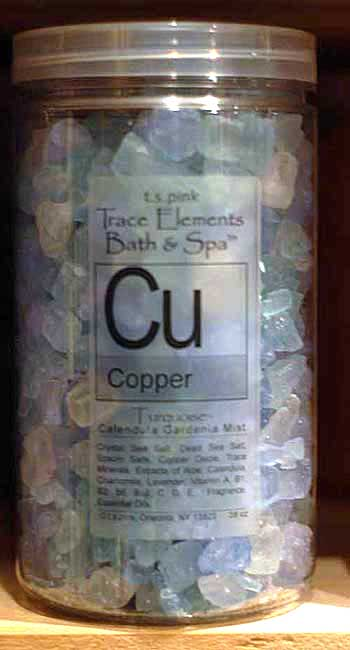 T. S. Pink Copper  Bath & Spa Salts/Crystals