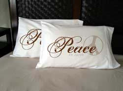 Faceplant Dreams - Peace on Earth Pillowcases