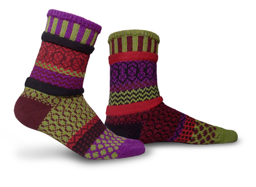 Solmate Socks Adult Covered Bridges Socks