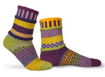 Solmate Socks Adult Crocus Socks
