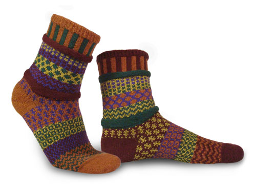 Solmate Socks Adult Fall Foliage Socks