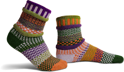 Solmate Socks Adult Indian Summer Socks