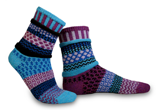 Solmate Socks Adult Raspberry Socks