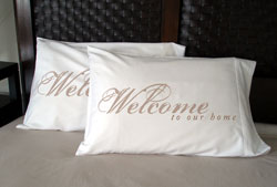 Faceplant Dreams - Welcome To Our Home Pillowcases