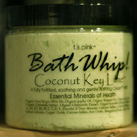 T. S. Pink Coconut Key Lime Bath Whip